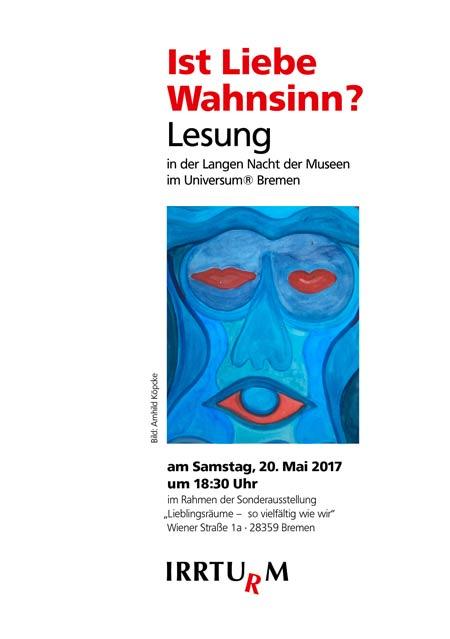 "Lesung ""Ist Liebe Wahnsinn?"""